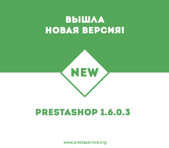 Вышла новая версия PrestaShop v1.6.0.3