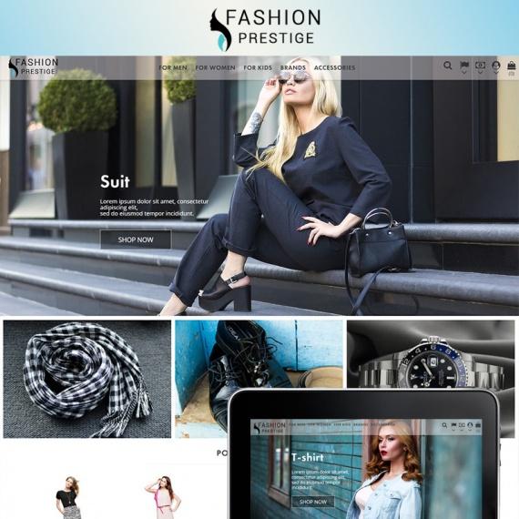 PrestaShop тема Prestige - Fashion 1.7